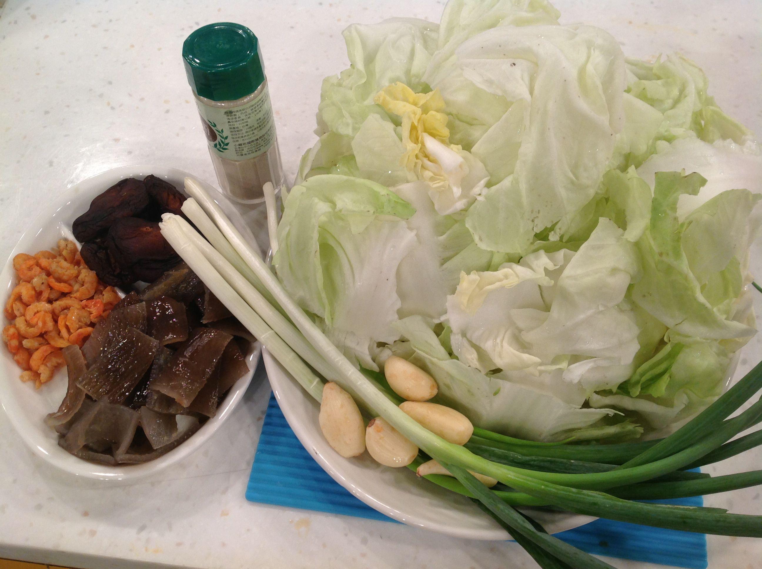 白菜鹵材料