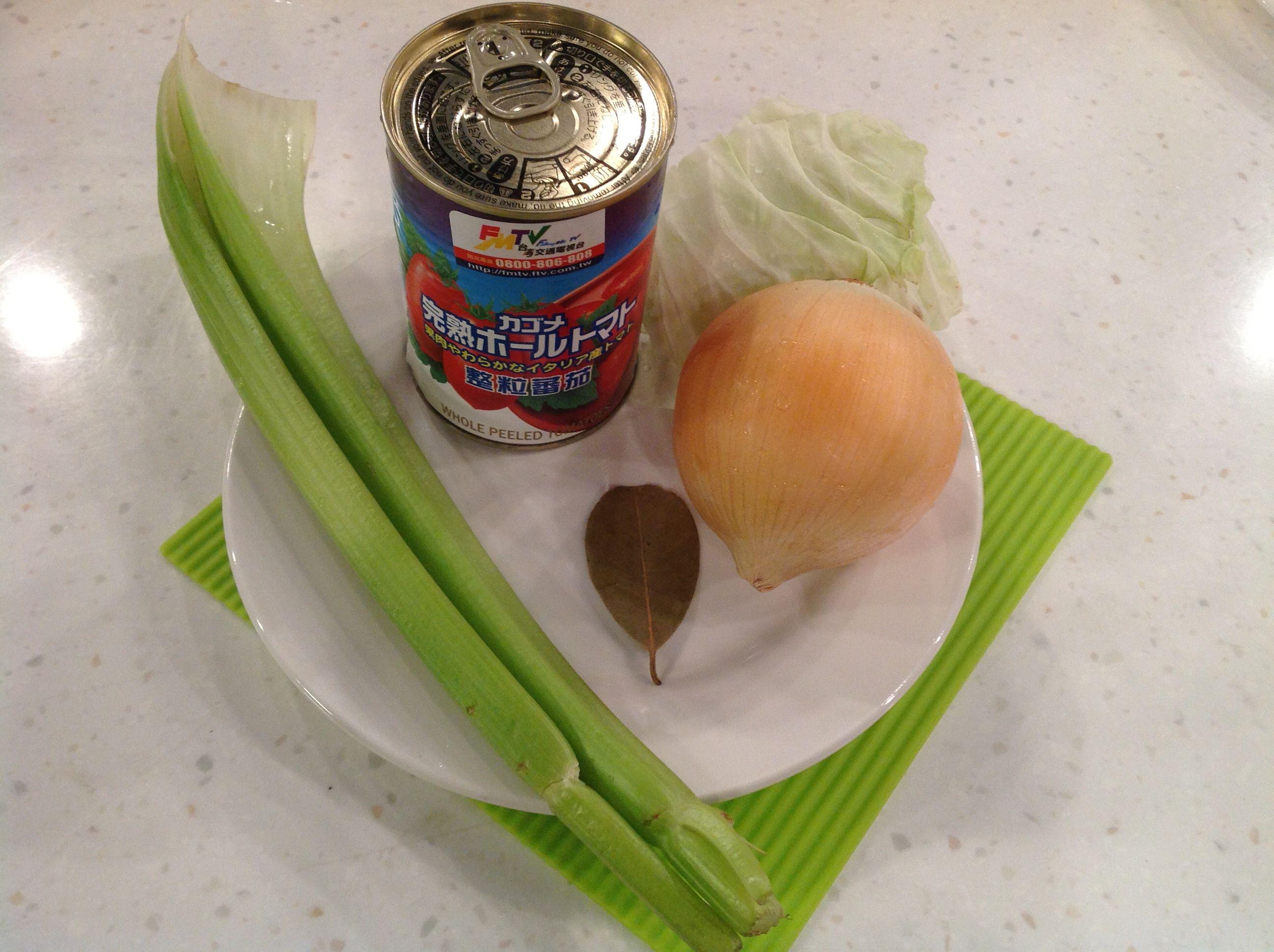 蔬菜湯食材