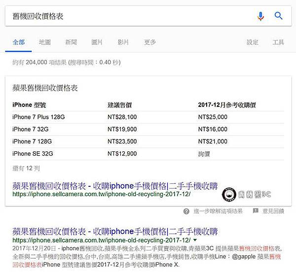 收購iphone報價單
