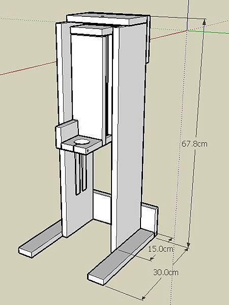 鑽台_Homemade drill press.jpg