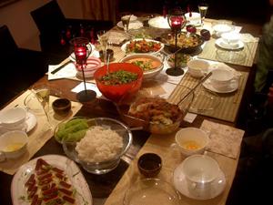 上班女郎的日子離我很遠了,但我的生活本事已經可以煮出一桌的台灣好菜讓我的德國友人品嘗s