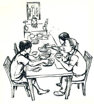 02餐桌上s