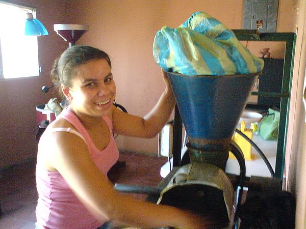 Cafe Guacamaya-總經理Sandra Hernandez.JPG