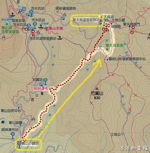 map 絹絲瀑布