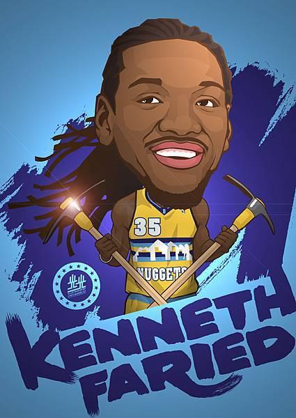 Kenneth Faried