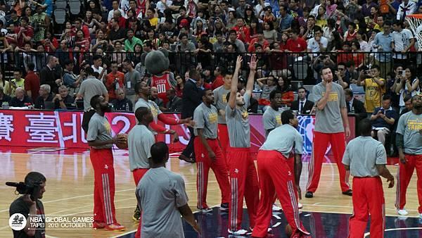 NBA Global Games TAIPEI 2013