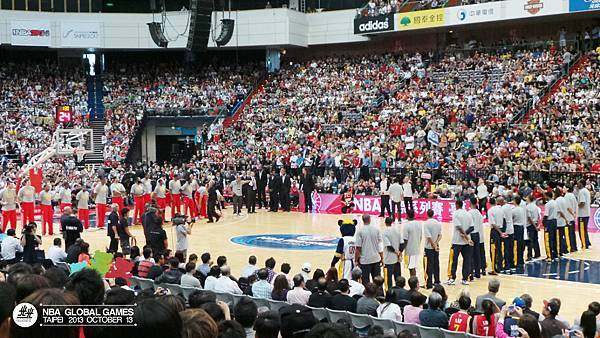 NBA Global Games TAIPEI 2013