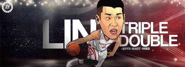 Jeremy Lin first Triple double