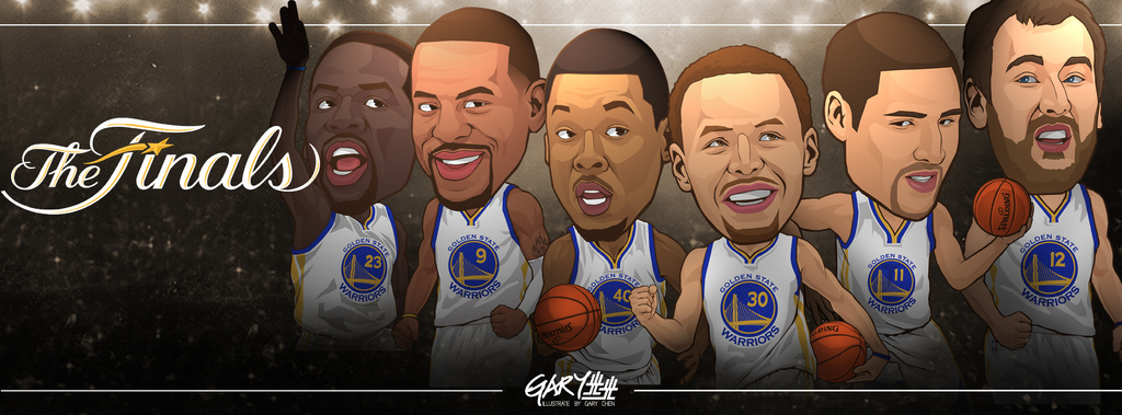 goldenstate warriors finals banner