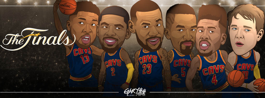 cleveland cavaliers finals banner