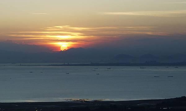 太武山夕陽