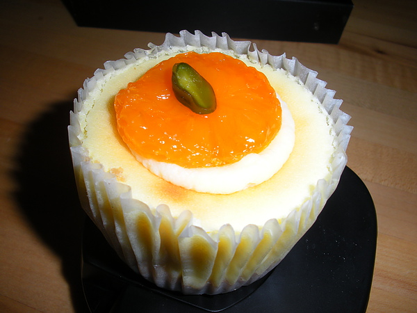 晨曦香橘乳酪