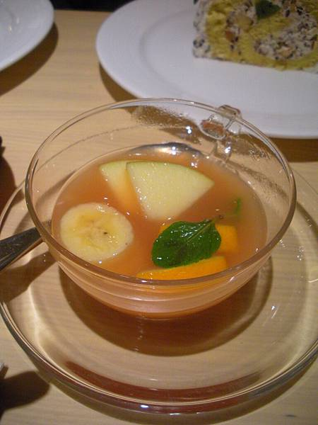 甜蜜水果茶(熱)