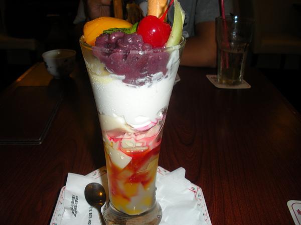 芒果豆奶冰淇淋