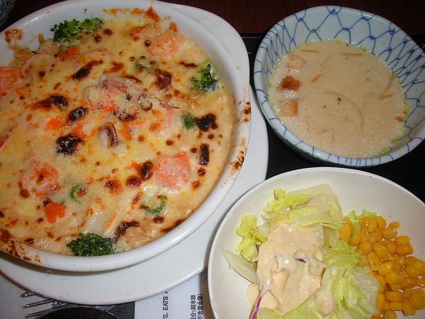 焗烤海鮮飯