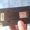 這顆是pentium 2還是celeron我也忘了...最早那一顆是80486DX2 66Mhz
