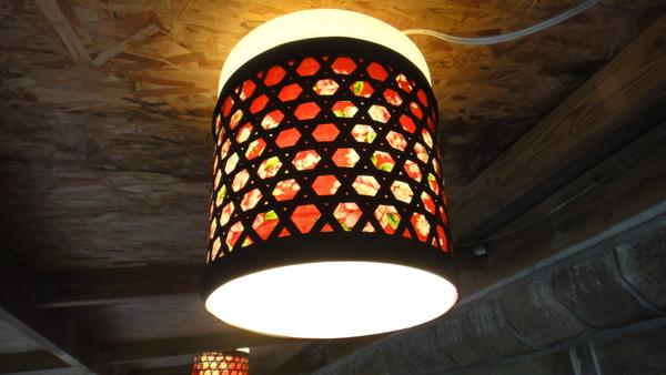 石碇美食台北景觀餐廳照明燈