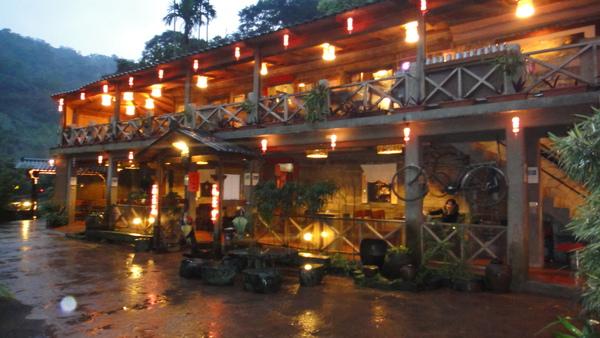 九寮坡外觀夜景