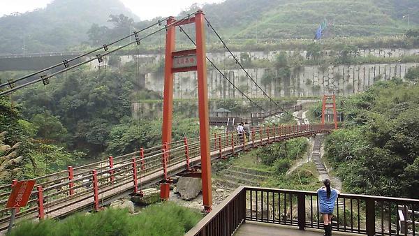 石碇淡蘭古道吊橋
