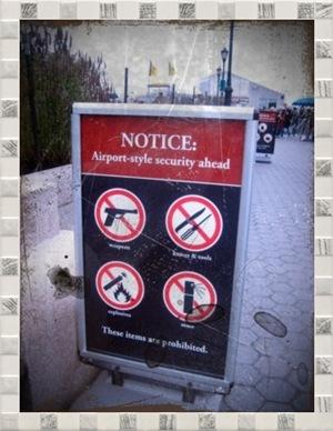 機場般嚴密檢查