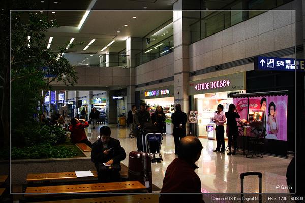 終於到了首爾機場囉....