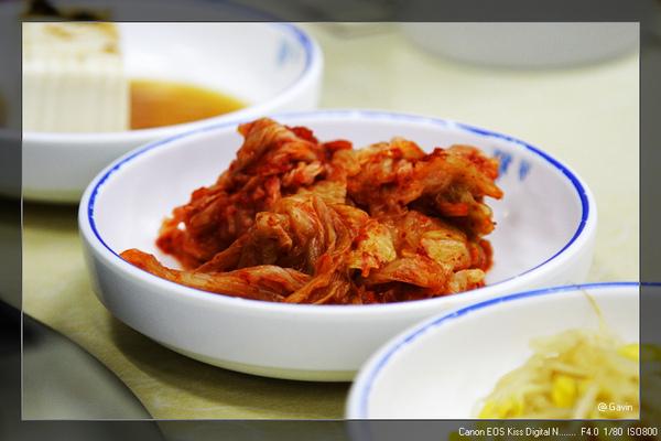 小菜...泡菜~ (每餐必出現...)