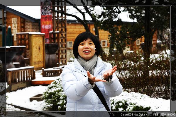 下雪來玩雪!!