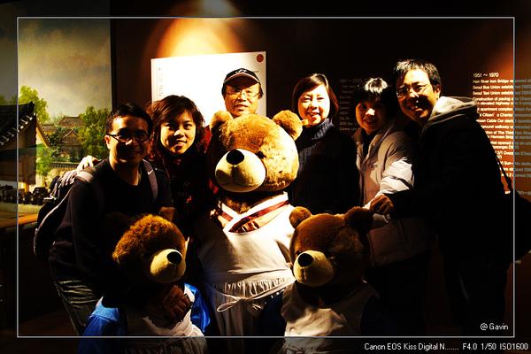 熊熊大合照!! @泰迪態博物館