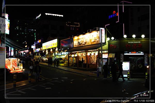 韓國人的夜生活...