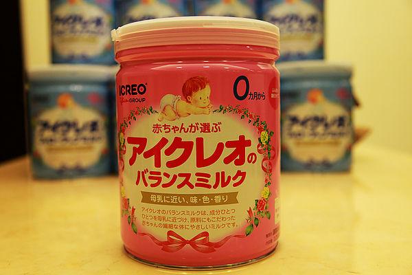固力果奶粉