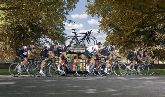 Rapha/Condor/Sharp Cycle team