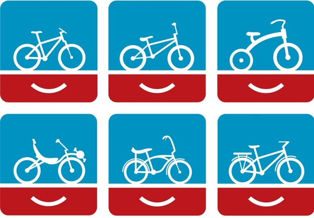 people for bike