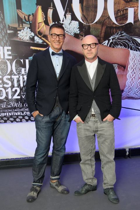Stefano Gabbana(左) & Domenico Dolce(右)