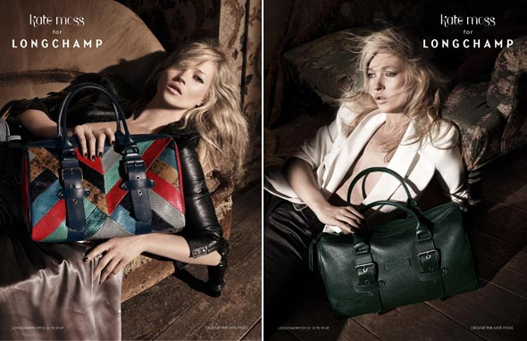 Kate Moss third collection for Longchamp