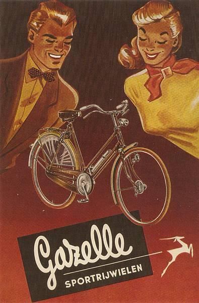 Gazelle經典復古海報
