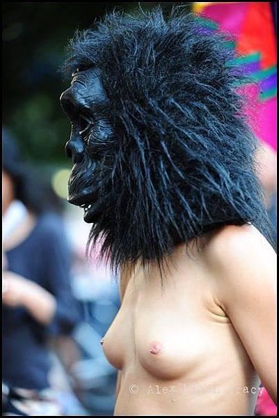 gorilla-head-girl