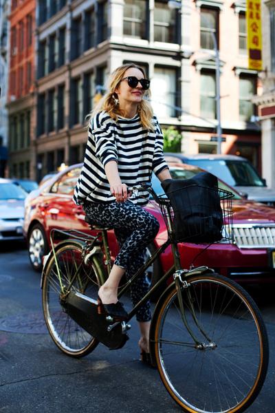 時尚自行車vs高跟鞋