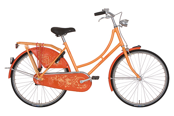 Madelief 年輕時尚款 24吋 單速 荷蘭橘