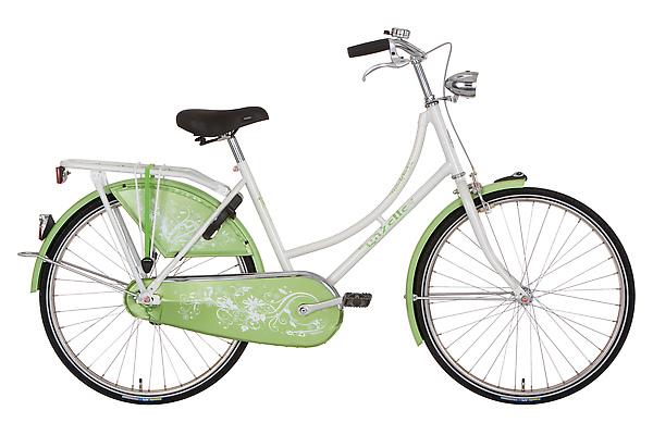 Madelief 年輕時尚款 24吋 單速 青蘋果綠
