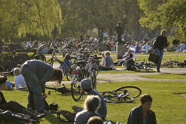 荷蘭公園單車趴
