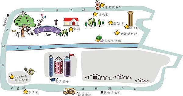 1413-6 東川里-地圖