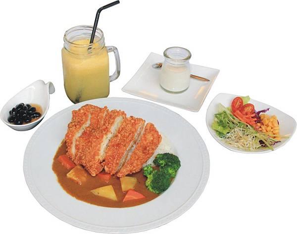 1425-6 卡里卡里-日式豬排咖哩飯