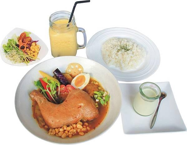 1425-6 卡里卡里-雞腿野菜湯咖哩