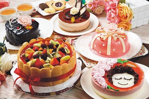 1436-1 依莎貝爾母親節蛋糕 綜合蛋糕