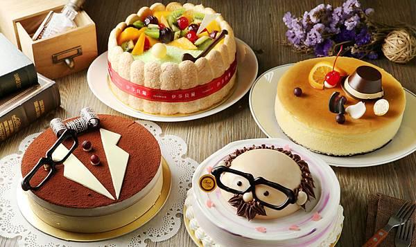 1451-6 巨報卡-伊莎貝爾2015父親節蛋糕