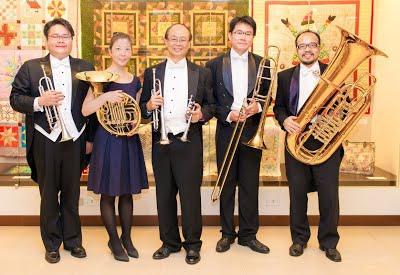 台灣銅管五重奏團