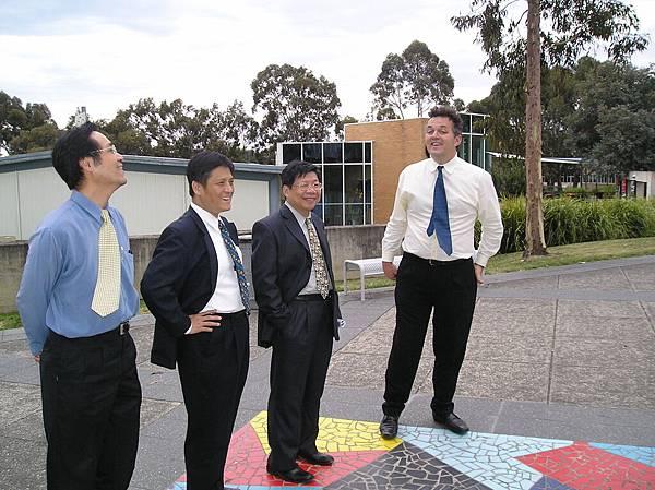 台北商業技術學院代表.Deakin.Melbourne.JPG