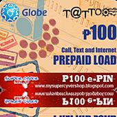 globe 100 call text internet prepaid load e-pin.png