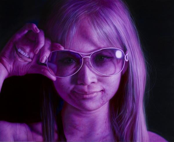 草莓族百鬼夜行7 地達羅  162X130cm  2009