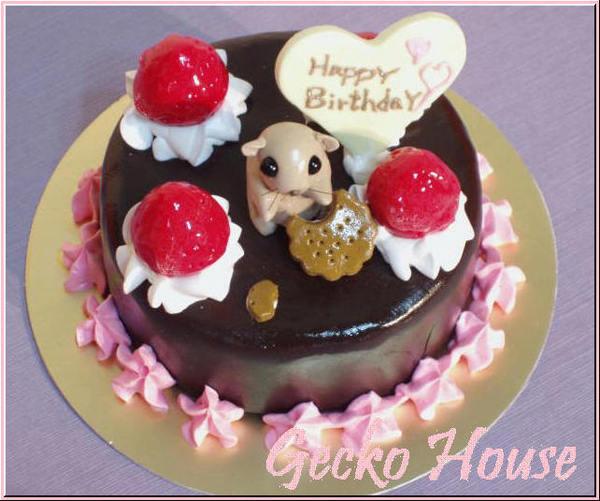 楓葉鼠黑森林蛋糕